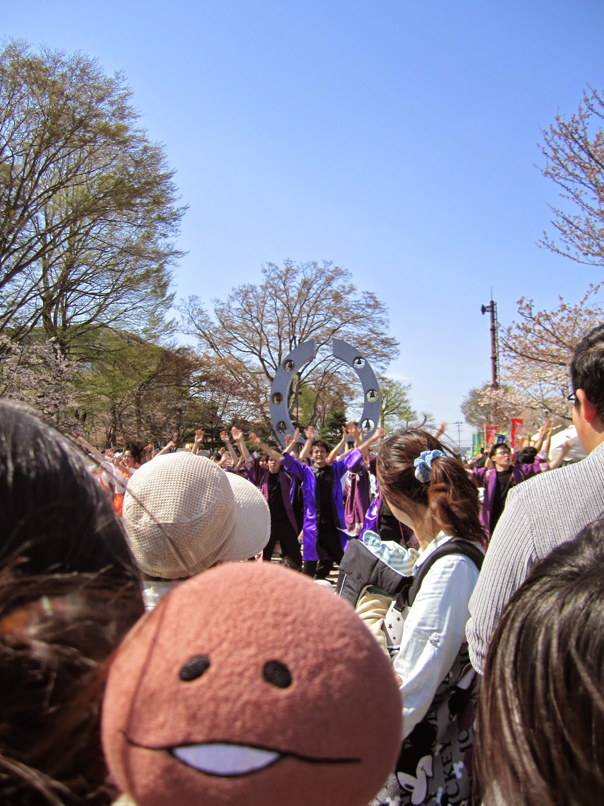 Towada Spring Festival Yosakoi Genki Matsuri 十和田市春まつり2015 よさこい元気まつり