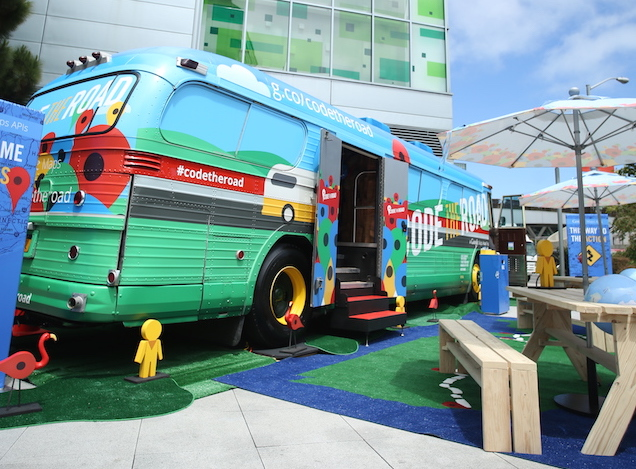 Google Maps Platform: Tour the Code the Road bus on facebook ad bus, nj transit bus, your ad here bus, caltrans bus, aarp bus, ea bus, usa today bus, florida bus, biometric bus, apple bus, microsoft office bus, world's first bus, nickjr bus, u-verse bus, shuttle bus, webkinz bus, pbs bus, visa bus, bing bus, allstate bus,