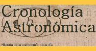 Cronología Astronómica de Astrofísica y Física