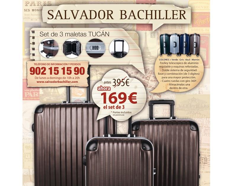 Me gusta ahorrar oferta maletas en salvador bachiller - Maleta salvador bachiller ...