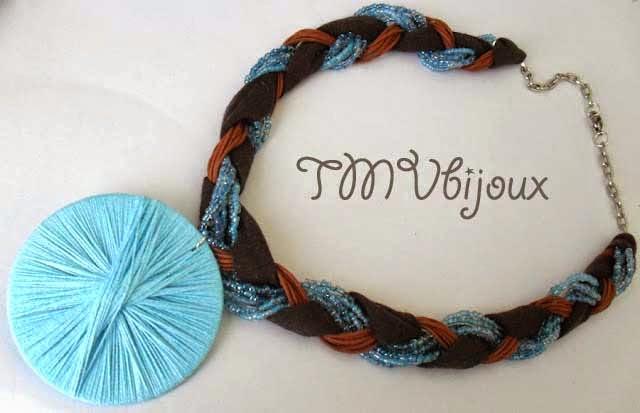 Artesanato De Natal Em Feltro Com Moldes ~ TMVbijoux Passo a passo de bijuterias feitas com linha de croch u00ea