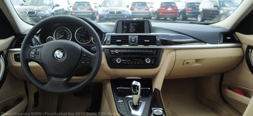 First Look At The BMW I Sedan Gallery Town Country BMW - Bmw 320i 2012