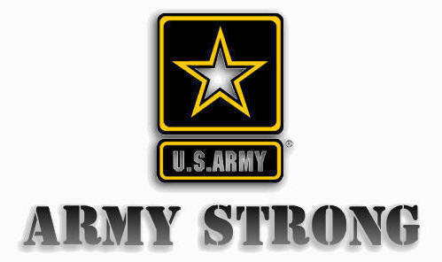 logo template army strong