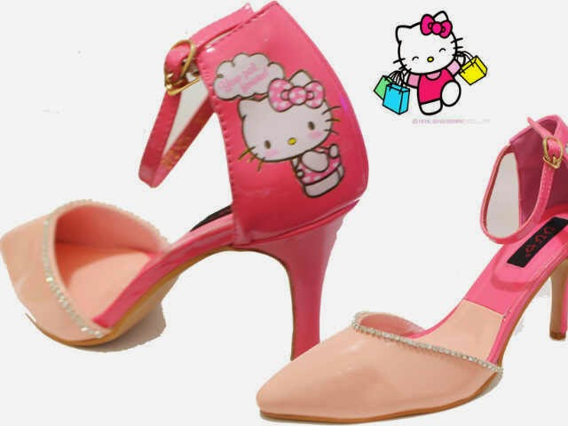 High heels hello kitty