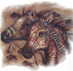 Tribal Horse Designs