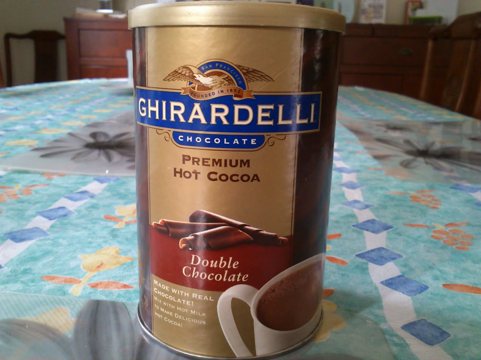 My Hot Cocoa: Ghirardelli Premium Hot Cocoa Double Chocolate