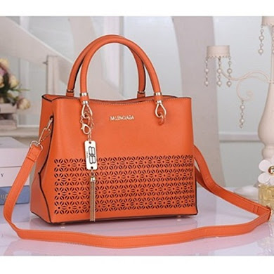 BALENCIAGA DESIGNER BAG - ORANGE