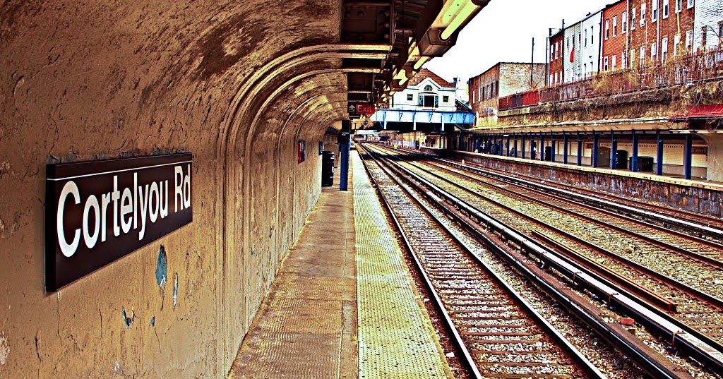 (G)REENWICH (V)ILLAGE (D)AILY (P)HOTO: Cortelyou Road Station
