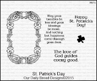 Our Daily Bread designs St. Patrick's Day
