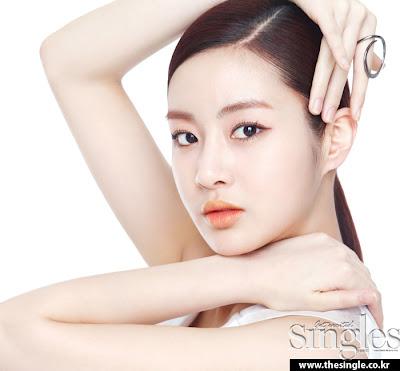 Kang Sora - Singles Magazine May Issue 2013