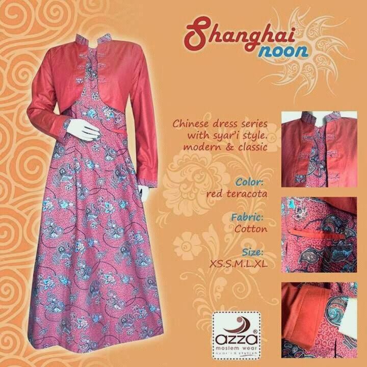 Gamis Batik Sanghainoon Red