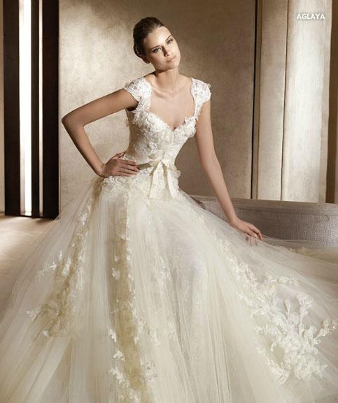 vestidos de boda blanco con dorado – vestidos baratos