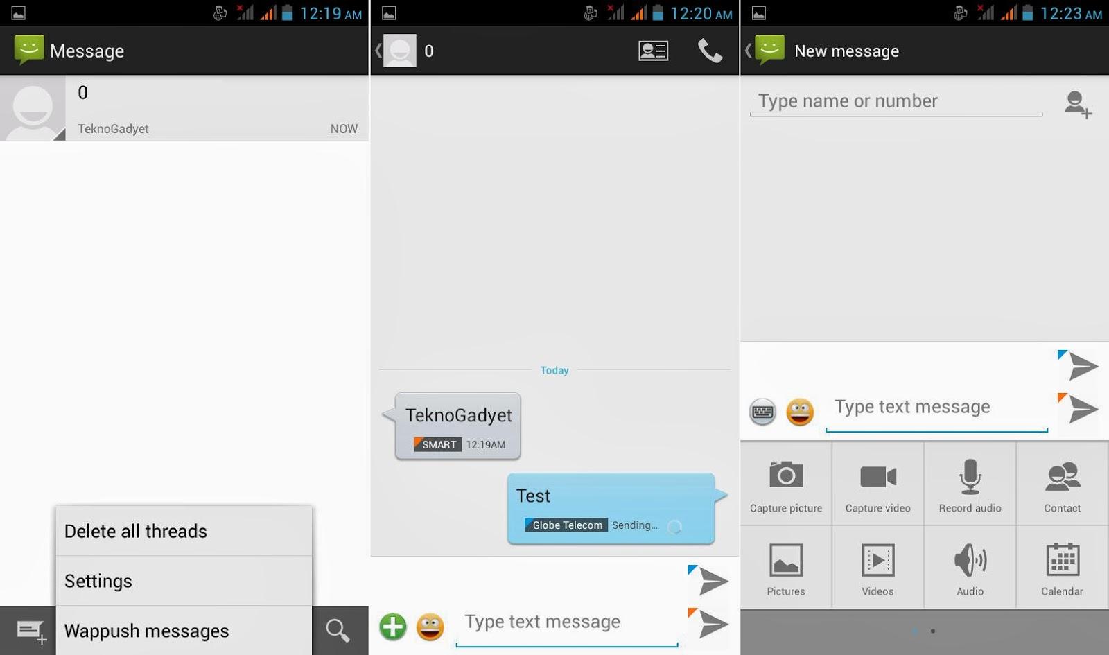 DTC Mobile GT15 Astroid Fiesta Messaging