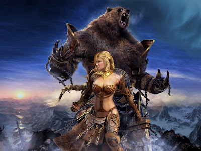 beauty-and-the-bear-fantasy-wallpapers