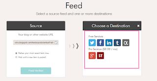 Como compartilhar as postagens do blog em várias redes socias ao mesmo tempo