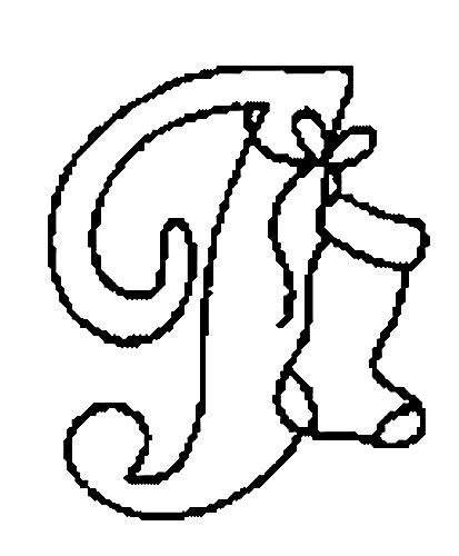 Desenhos Para Colori letras do alfabeto letra I desenhar