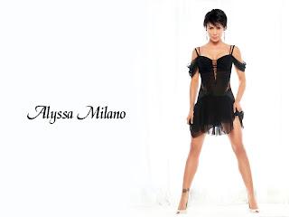 Alyssa Milano New Wallpaper