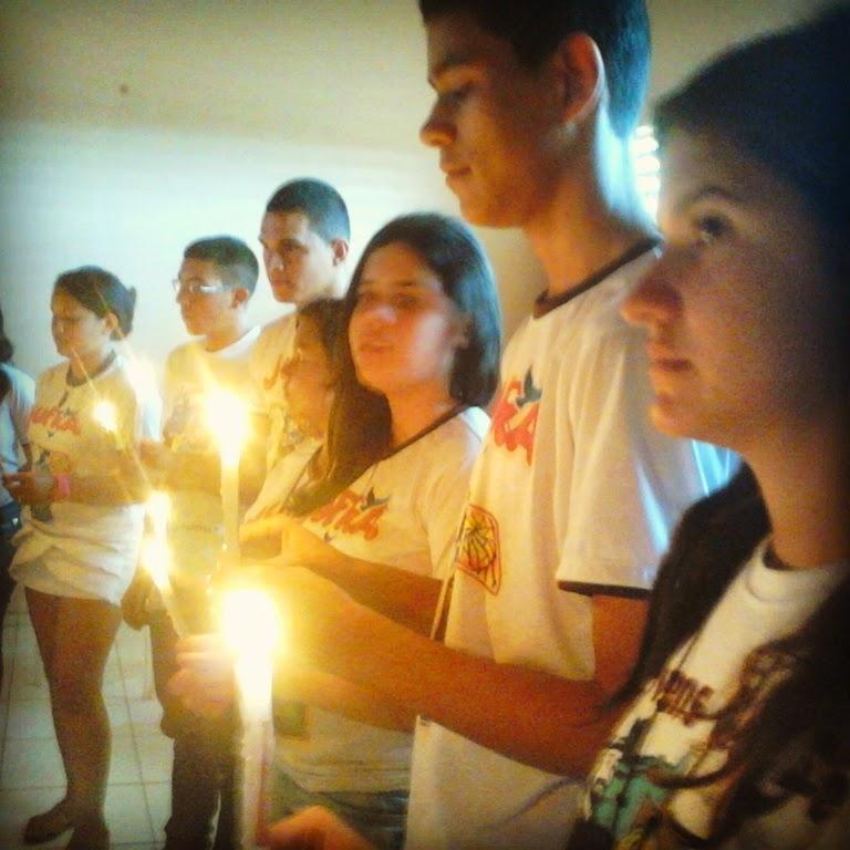 Retiro Espiritual na Fraternidade Jovens de Fé, Seguidores de São Francisco - Guaraciaba do Norte/CE