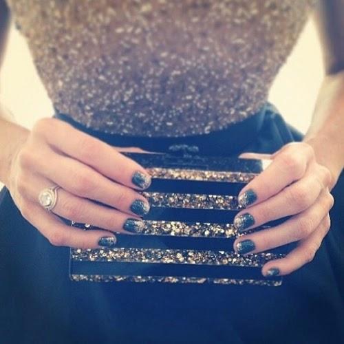 manicura monica potter golden globes globos de oro