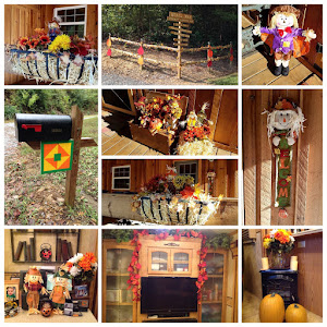 Some Fall decor around the farm!