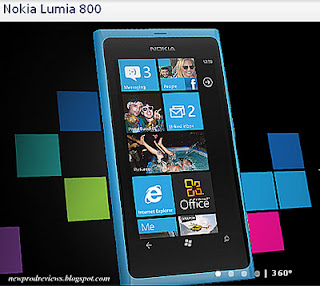 Nokia Lumia 800 windows smartphone