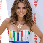 MARIA MENOUNOS IS STRIPED WITH GORGEOUS AT THE 2013 GAY PRIDE PARADE IN LOS ANGELES