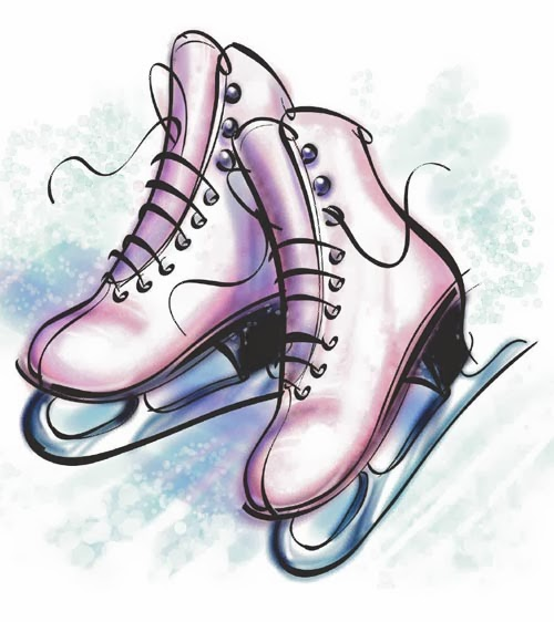Family Ice Skating Clip Art Skates don t grow on trees Ice Skating Clipart