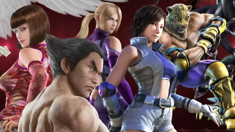 Tekken Tag Character Render