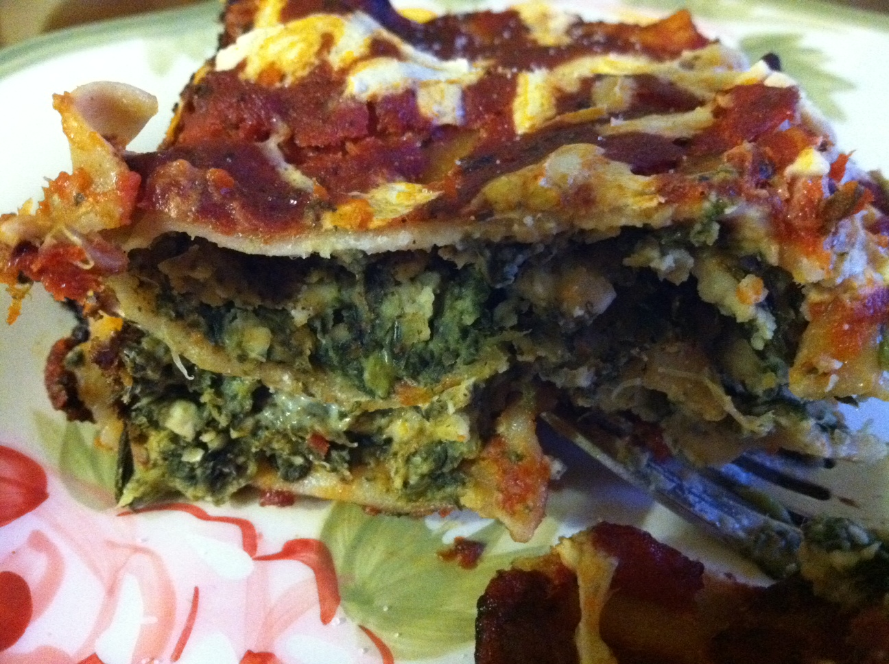 Spinach Lasagna That'll Rock Your World