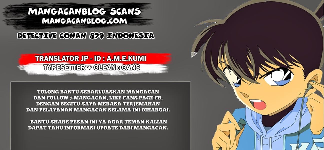Dilarang COPAS - situs resmi www.mangacanblog.com - Komik detective conan 879 - master detective 880 Indonesia detective conan 879 - master detective Terbaru |Baca Manga Komik Indonesia|Mangacan
