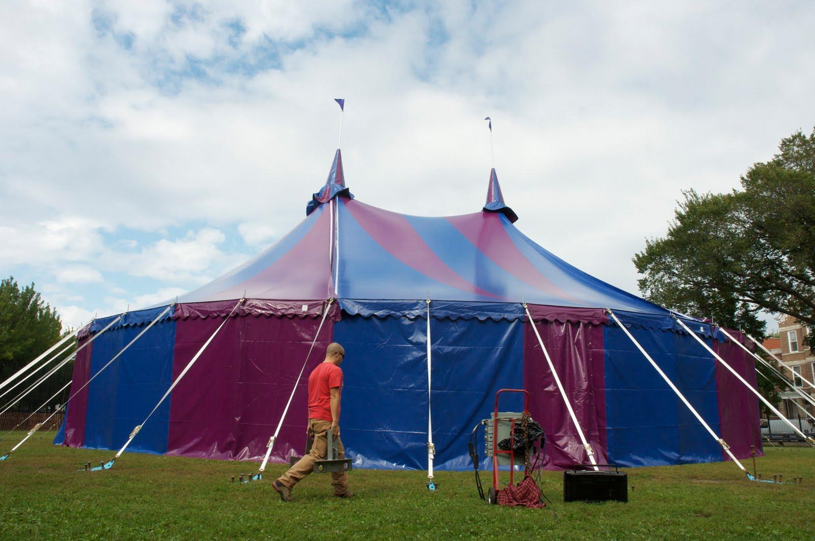 Circus Tent for Midnight Circus & Circus Tent for Midnight Circus | Armbruster Tent Maker