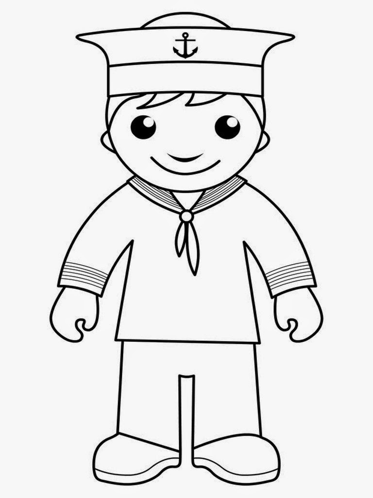 navy sailor coloring pages navy sailor coloring page coloring pages