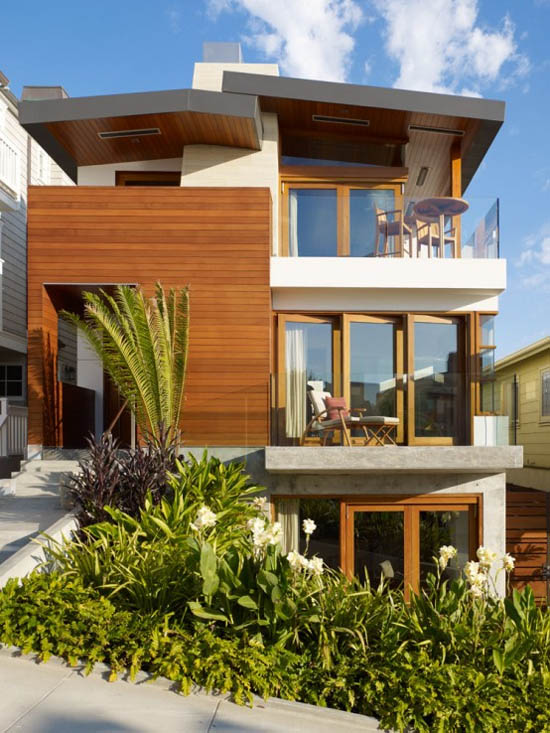 Design Modern House With Garden In The Area Little Space | Modern ...