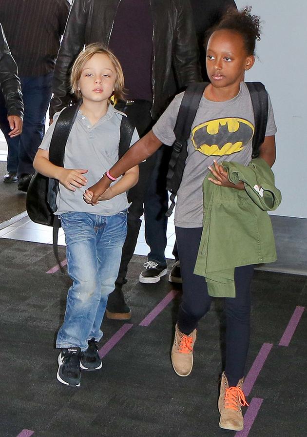 Brad Pitt and Angelina... Angelina Jolie Kids Grown Up
