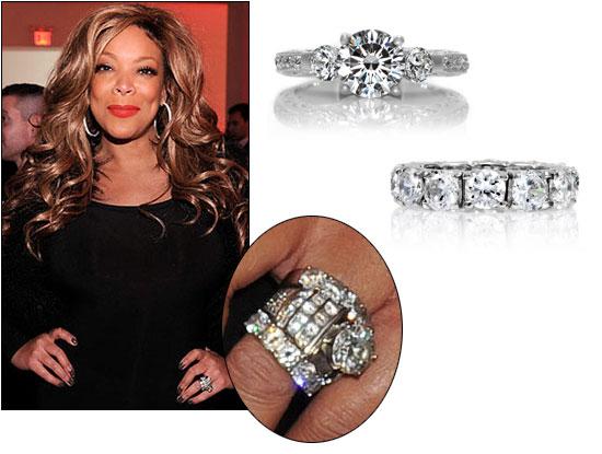 Wendy Williams Wedding Ring Up Close