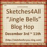 Jingle Bells Blog Hop at Sketches4all