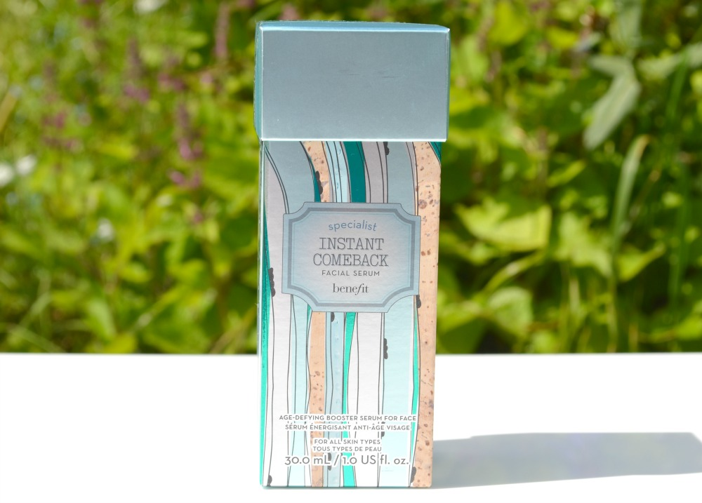 benefit instant comeback serum how to use