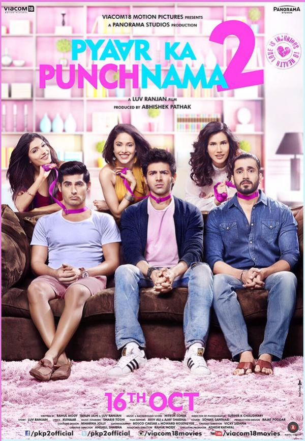 Watch Pyaar Ka Punchnama 2 (2015) DVDRip hindi Full Movie Watch Online Free Download