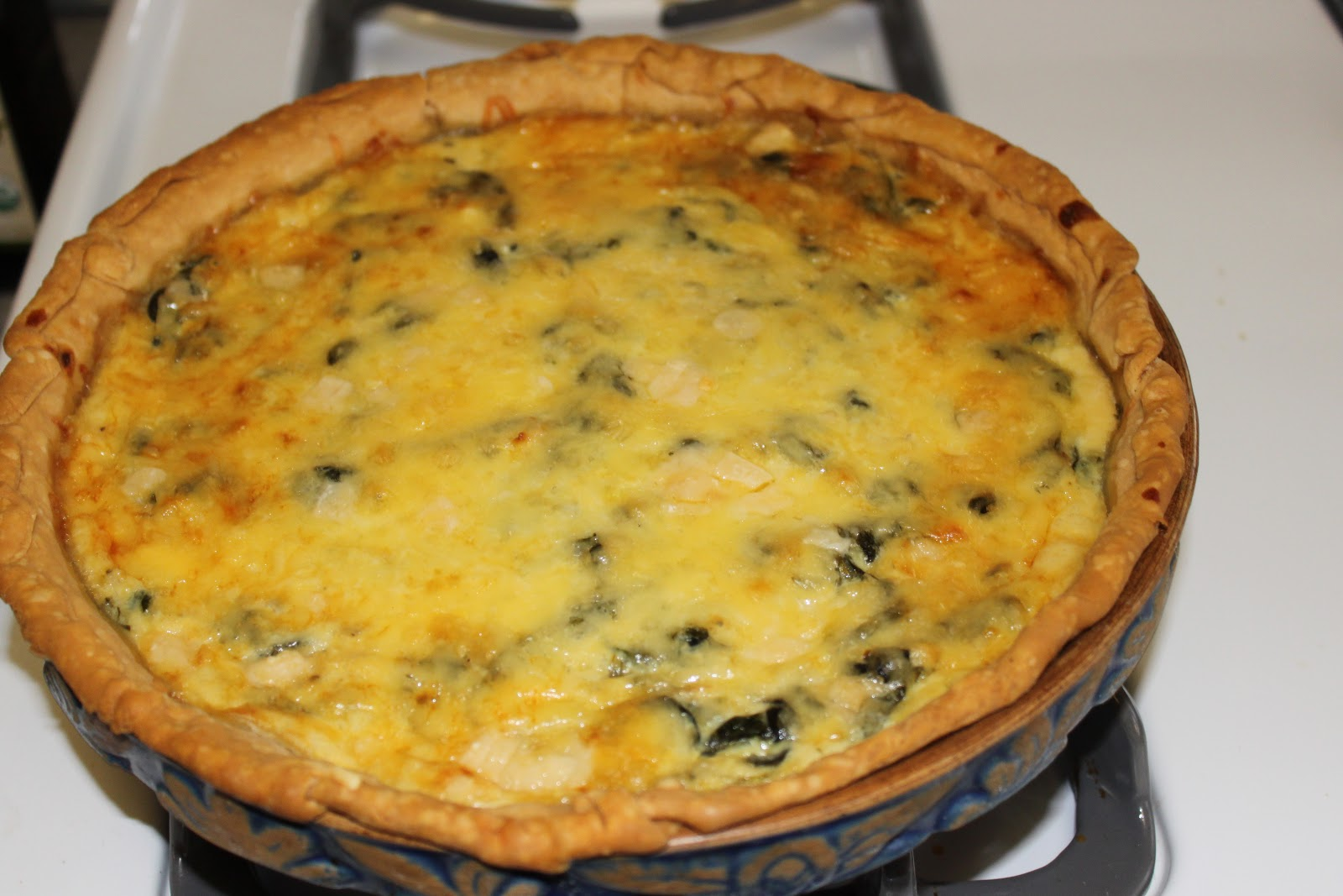 "White House Spinach Pie from Michelle Obama and slightly ""tweaked"" ..."
