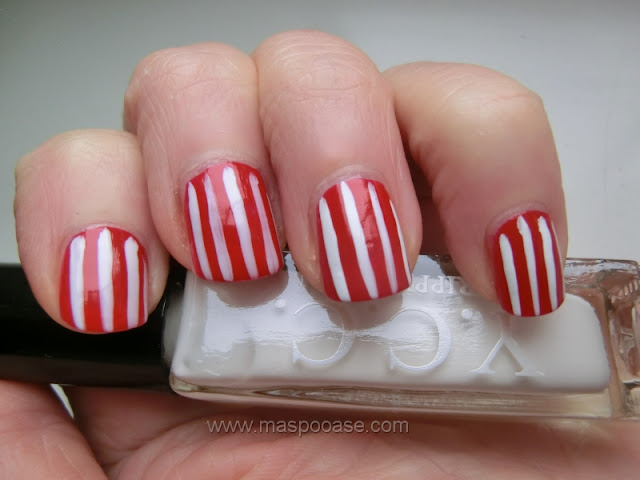 Millennium Nails white snow striper review