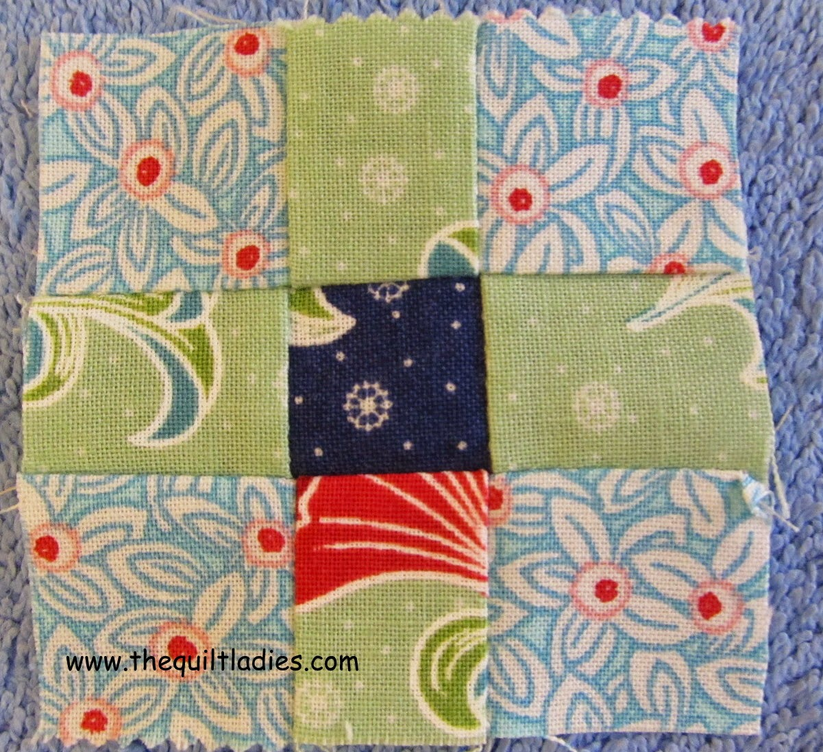 9-Patch Table Topper Quilt Pattern and Tutorial