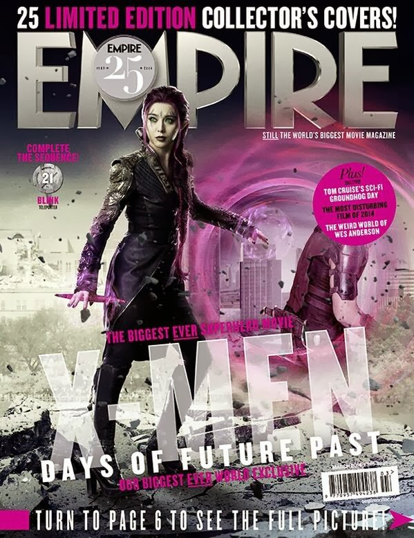 Empire covers X-Men: Days of Future Past: Blink