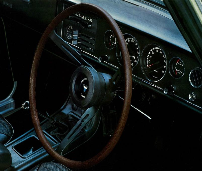 Toyota 1600GT, wnętrze, interior, japoński sportowy samochód, kultowy, klasyk, JDM, トヨタ, 日本車, クラシックカー, スポーツカー, こくないせんようモデル