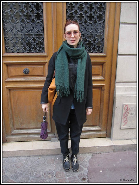 Pelin Akgun style de la semaine vintage vetements fripe Episode