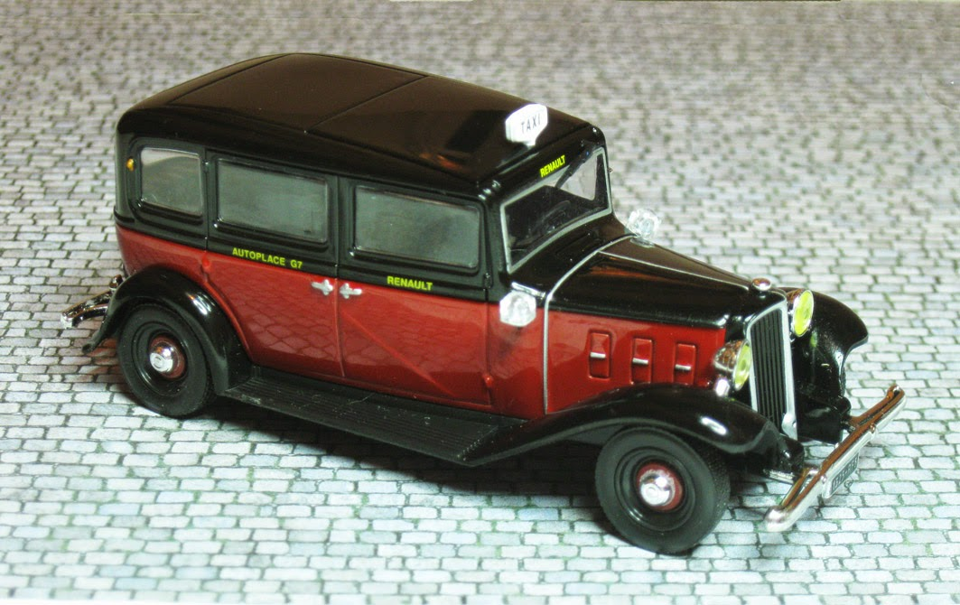 themes 43 diorama taxis parisiens 1950. Black Bedroom Furniture Sets. Home Design Ideas
