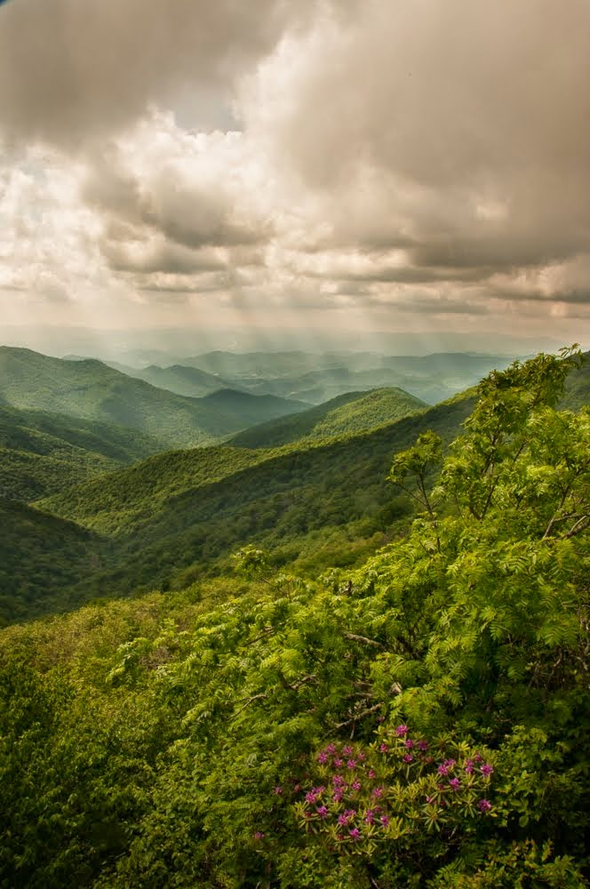 Storm over the Blue Ridge