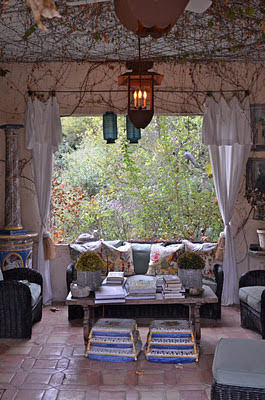 casa mediterranea gianetti terraza interior