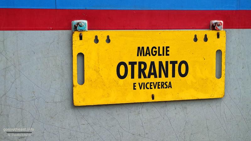 Ferrovie del Sud Est Maglie - Otranto