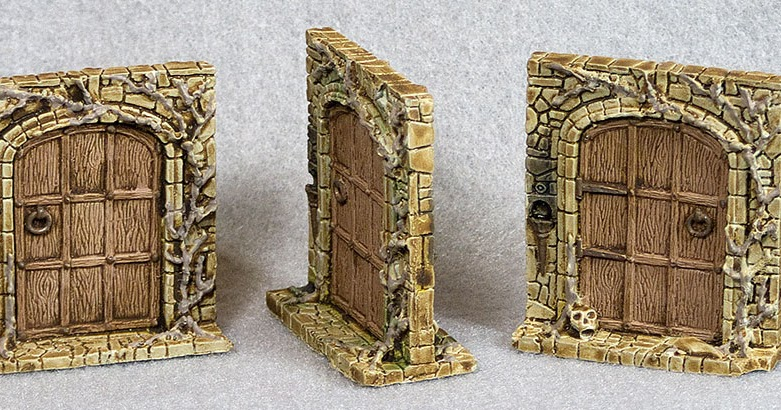 & Shouting Into The Void: Dungeon Doors Pezcame.Com