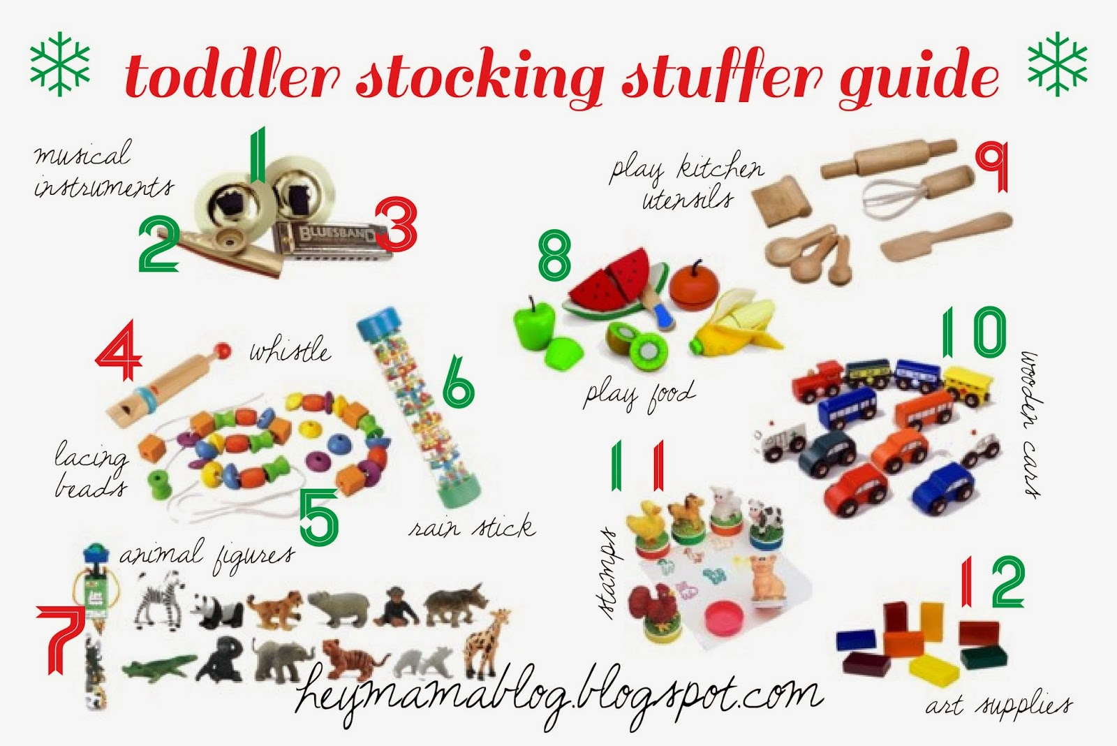 The Long Way Home: Toddler Stocking Stuffer Guide